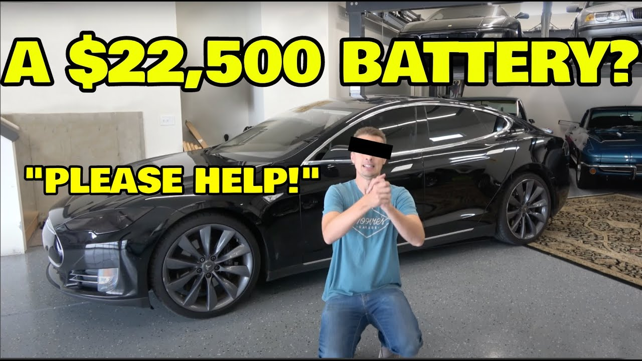 Tesla wanted him to pay $22500 to replace a battery pack, we did it for 75% less!