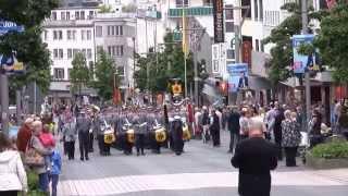 28. NATO-Musikfest - 24. Mai 2014 Parade in der Innenstadt von Mönchengladbach Teil 01