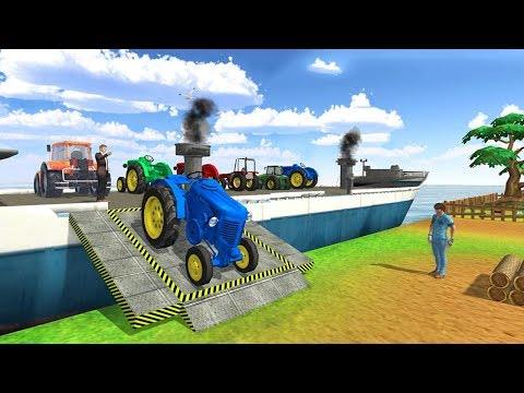 Tractor Cargo Ship Transport (by Sablo Games) Android Gameplay [HD]