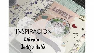 Inspiracion Libreta Indigo Hillo