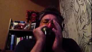 Dirty Slow Blues Harp Jam - Blue Midnight - Green Bullet