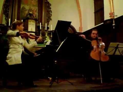 Mendelssohn Trio Berlin Brahms op.40 3.Satz