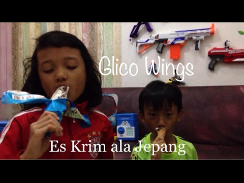 Glico Wings Ice Cream [Review]|Es Krim Baru!!!