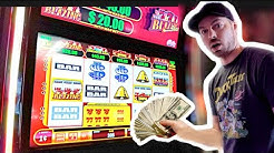CAN'T STOP WINNING THE BLAZING 7'S SLOT MACHINE BONUS!