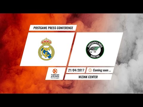 Press Conference: Real Madrid - Darussafaka Dogus