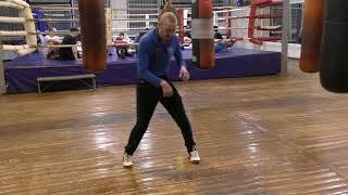 Бокс: упражнения с теннисным мячом