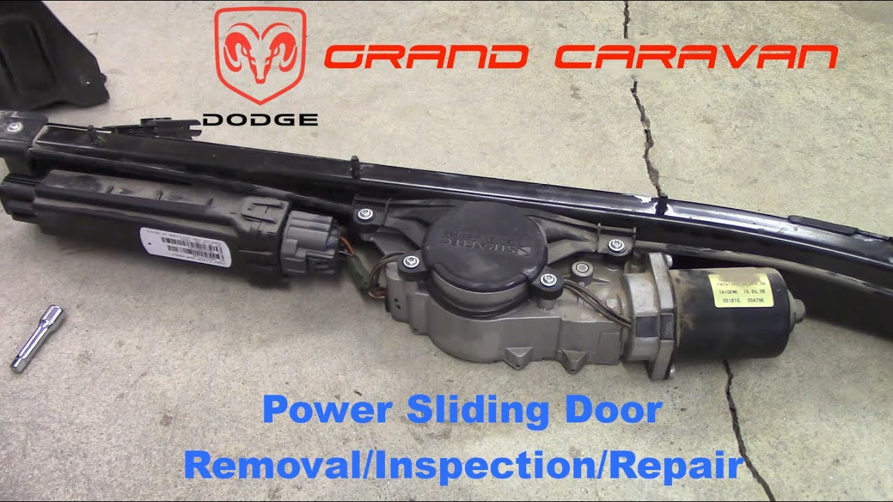 Dodge Grand Caravan Power Sliding Door Removal Inspection Repair Youtube