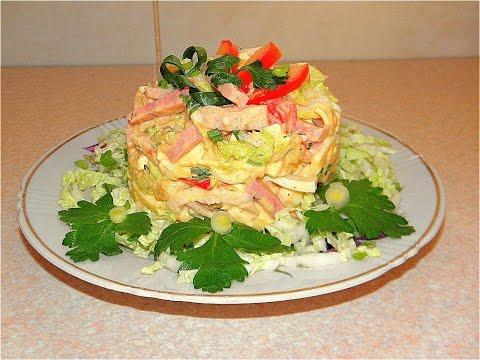 цезарь рецептами с порционный салат и фото