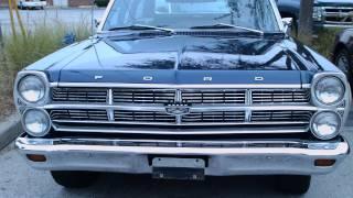 1967 Ford Fairlane Squire Blu