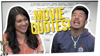 Can You Quote This Movie?? Ft. Steve Greene & Nikki Limo