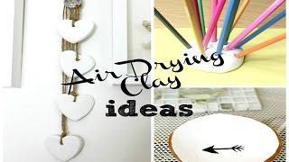 DIY   Air Drying Clay Ideas