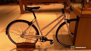 2015 Shinola Detroit Arrow Bicycle - Walkaround - 2015 Detroit Auto Show Lincoln Display