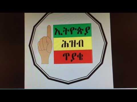 Fisseha Eshetu (One Ethiopia Movement - Global Center / አንድ ኢትዮጵያ ህዝባዊ እንቅስቃሴ)