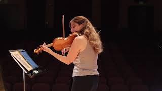 Partita for Solo Violin, Mvt. 1: Adagio by Andre Meyers