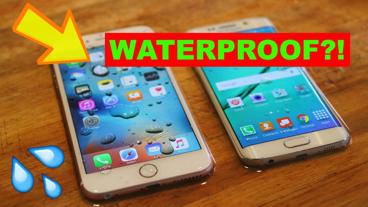 iPhone 6s Surprisingly Water Resistant, but Not Waterproof