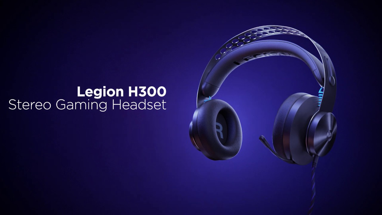 Legion H300 Stereo Gaming Headset Product Tour - YouTube