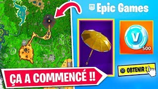 THE FORTNITE MAP VA BE COVERED WITH LAVE - SECRET PLANOR!!