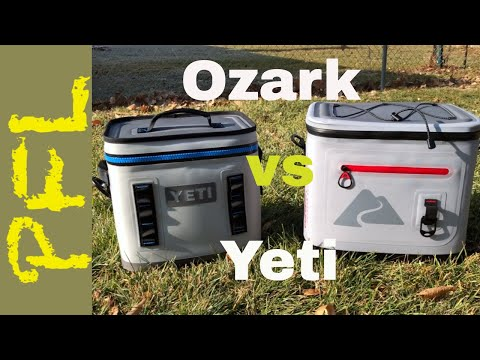 Ozark Trail 20 Can Leaktight vs. Yeti Hopper Flip 12: Soft Cooler Showdown