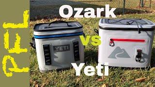Ozark Trail 20 Can Leaktight vs. Yeti Hopper Flip 12: Soft Cooler Showdown
