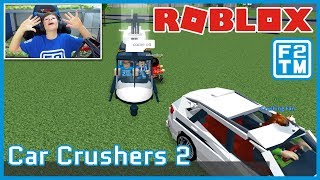 LE NOYAU DOIT EXPLOSER!!! Roblox Car Crushers 2 - France Fraser2TheMax - France Roblox Kid Gaming