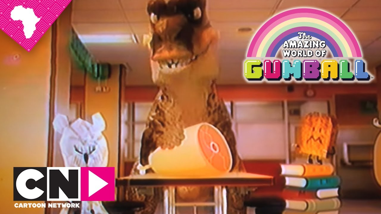 T Rex Wants A Date The Amazing World Of Gumball Cartoon Network Youtube