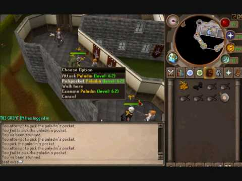 Agility Benefits For Fishing, Hunter And Thieving  On Runescape