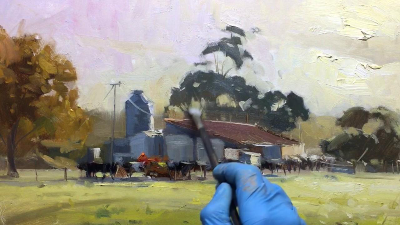 Make Glazing Medium Oil Painting