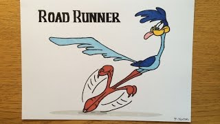 Time Lapse Drawing - Road Runner