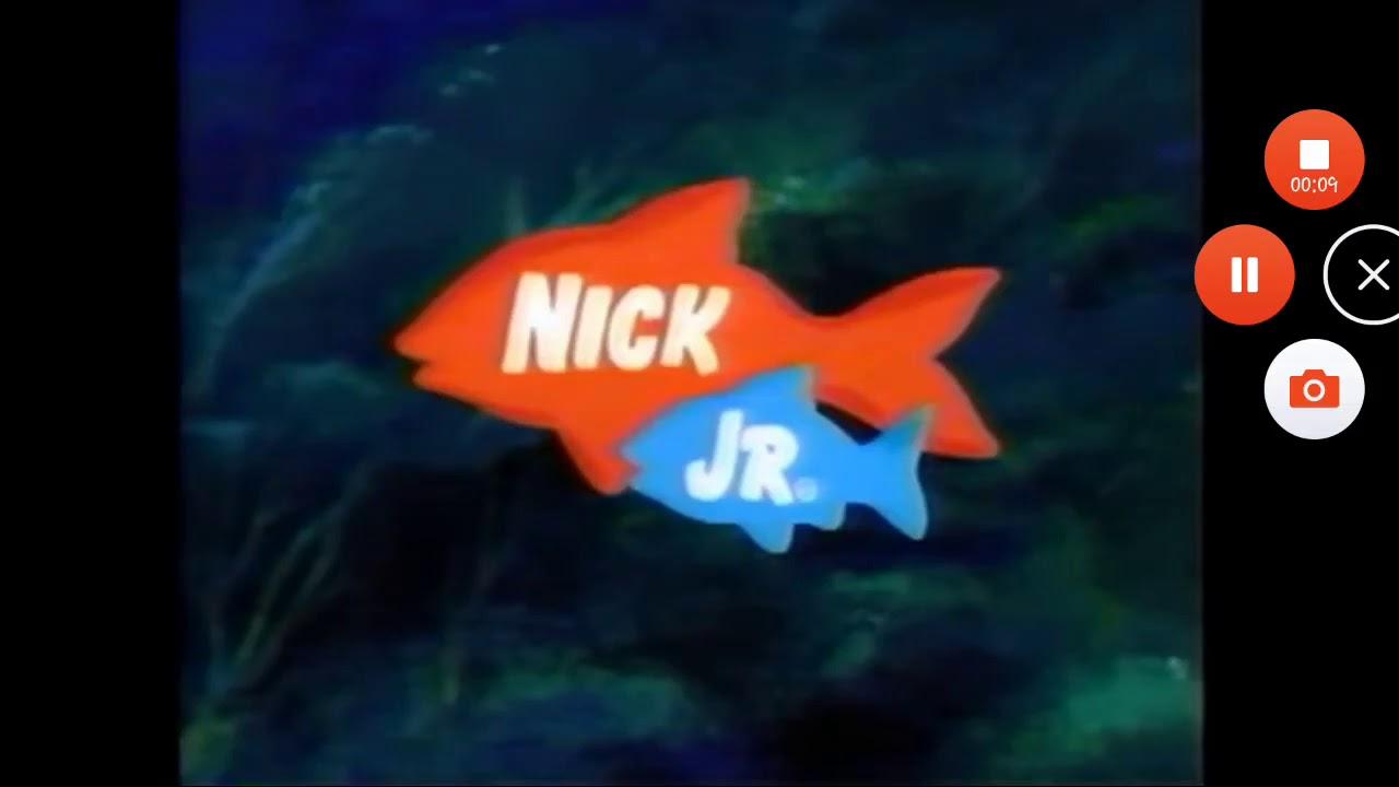 Nick Jr Bumpers : Nick jr fish bumper logo youtube