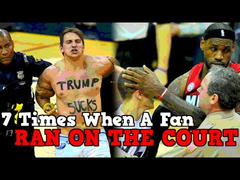 7 Times When NBA Fans Ran ONTO The COURT