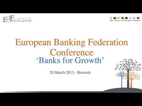 "EBF Conference ""Banks for Growth"" - CEO Roundtable: the future banking model"