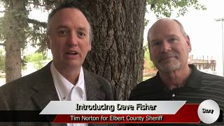 Tim Norton Names His Future Undersheriff - Dave Fisher