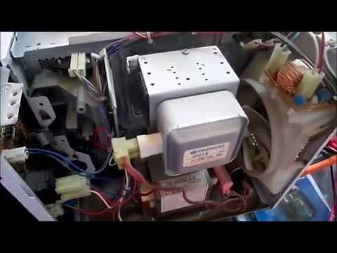 Как отремонтировать микроволновку дэу