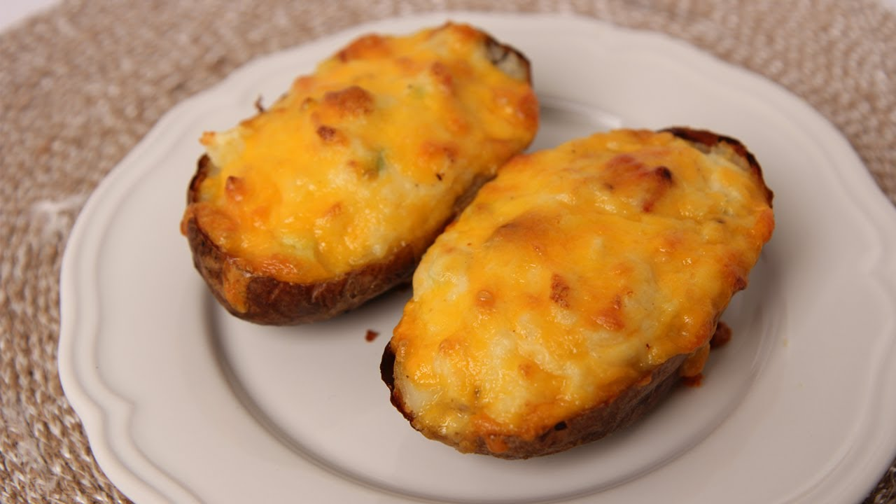 Twice Baked Potatoes - Laura Vitale - Laura in the Kitchen Episode 485