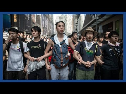 Hong Kong protest 2014: On the streets of HK | Report #1