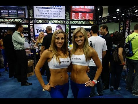 The Fit Expo 2014 11th Annual LA California Video Tour - athletes, booths, bodybuilders and events