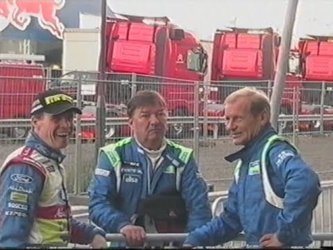 WRC HISTORY: Rally Finland 2010 Early morning in Parc Ferme