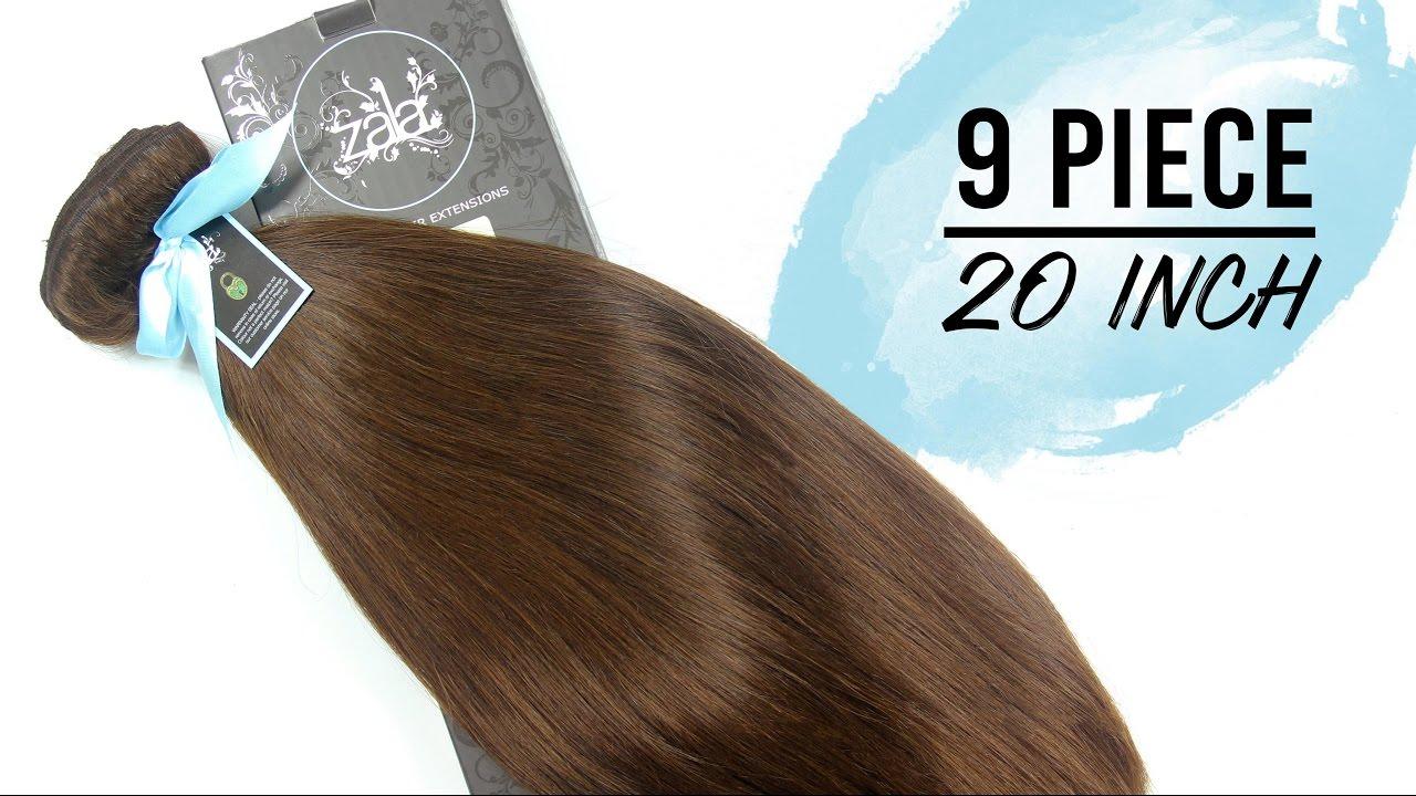 Zala rich mocha 4 20 inch 9 piece youtube zala rich mocha 4 20 inch 9 piece zala hair extensions pmusecretfo Choice Image