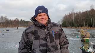Рыбалка в декабре 6 число Московская область д Холмы