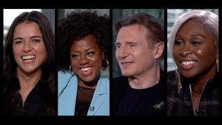 WIDOWS Interviews: Viola Davis, Liam Neeson, Michelle Rodriguez, Cynthia Erivo, Steve McQueen