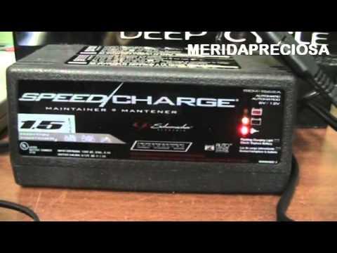 Cargador inteligente de bater as 12v y 6v youtube - Cargador de baterias ...