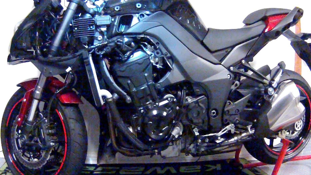 kawasaki z1000sx l h fairing removal [ 1280 x 720 Pixel ]