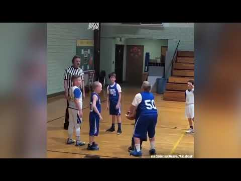 Lulu - Basketball Team Helps Child With Special Needs Make A Basket