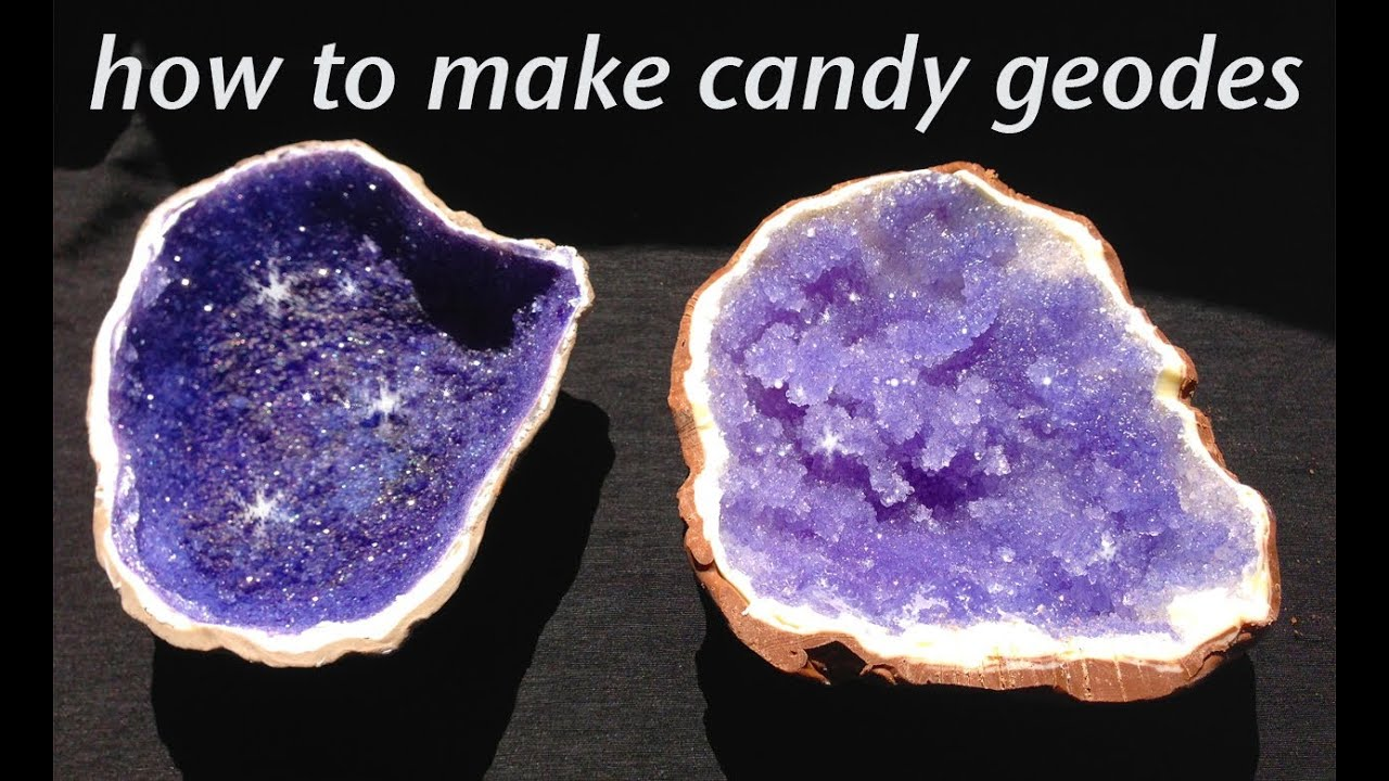 Rock candy edible geode how to cook that rock candy recipe for How to make edible cake decorations at home