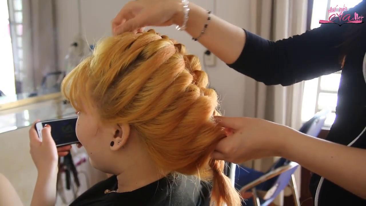 Hướng Dẫn Cách Tết Tóc Đuôi Tôm Đơn Giản Dễ Làm – Học Tết Tóc Cơ Bản – Thế Giới Eva #1