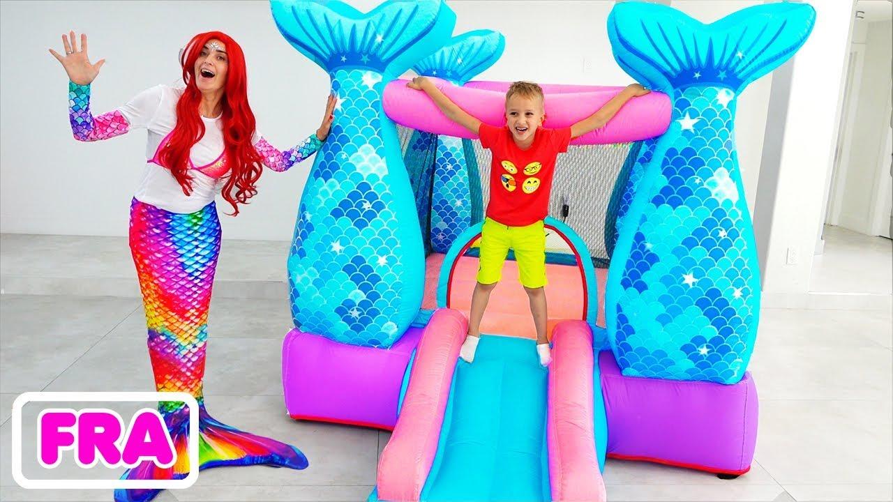 Download Vlad et maman se sont transformés en sirène