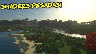 TESTANDO SHADERS PESADAS NO MEU PC NOVO