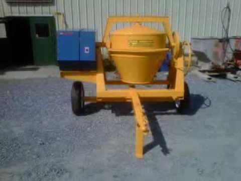 Trowel Trades Inc Stone Construction Equipment Concrete Mixer