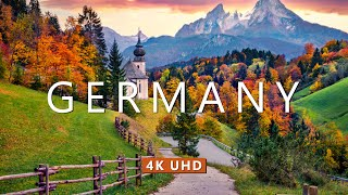 4K Drone Footage - Bird's Eye View of Germany, Europe - Relaxation Film with Calming Music