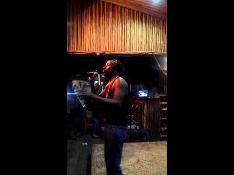 Bob julie sing at karioki at malindi night club
